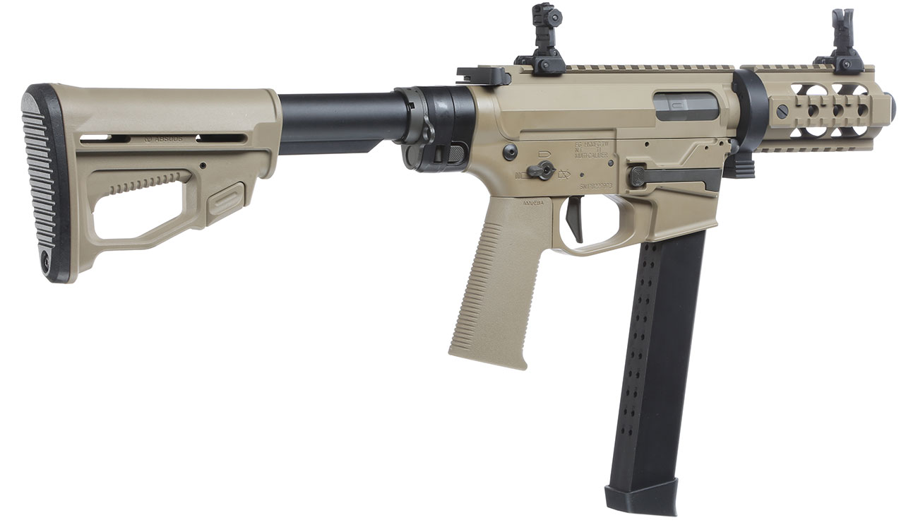 Ares M45X-S X-Class Vollmetall EFC-System S-AEG 6mm BB Dark Earth 3