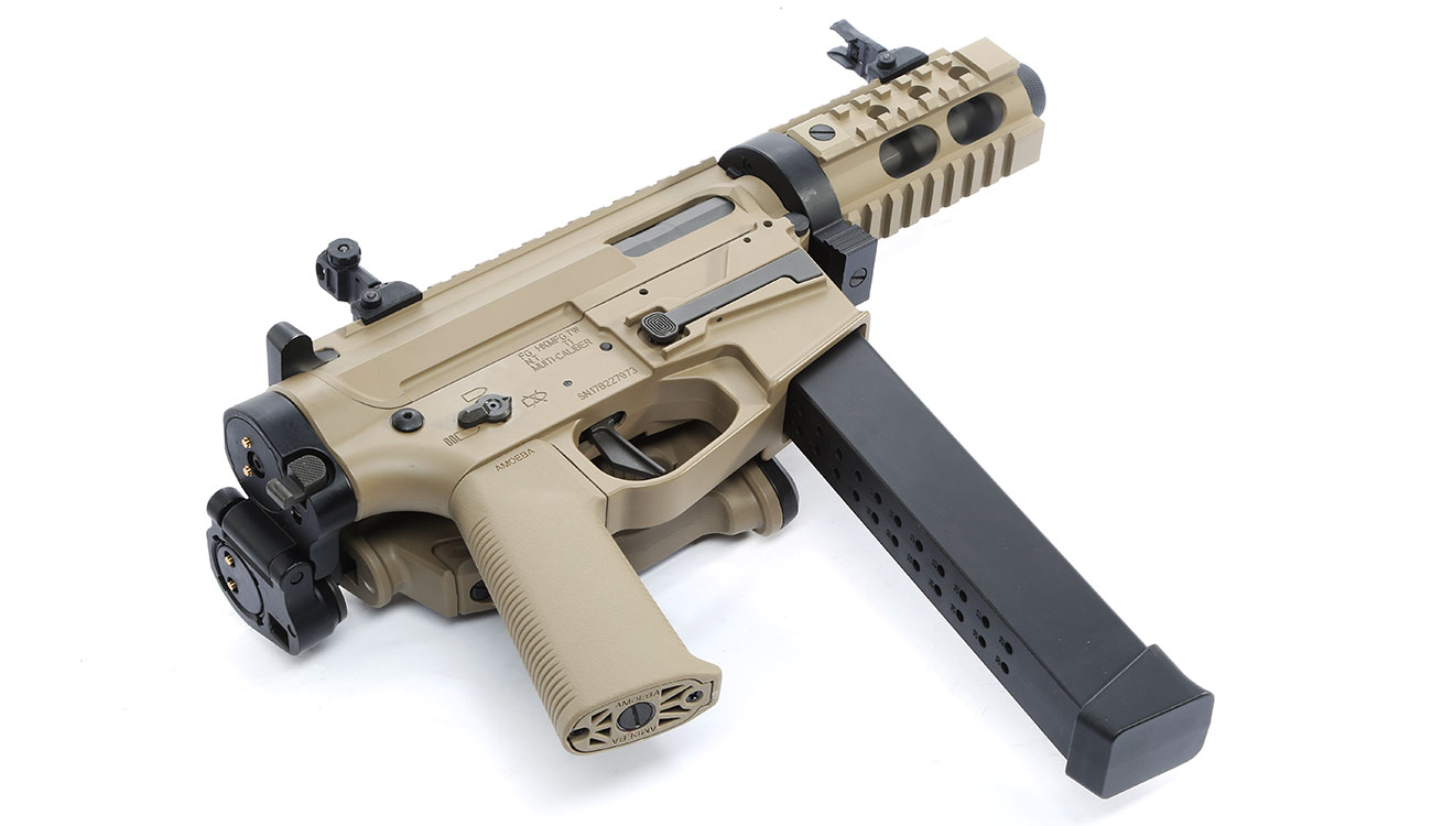 Ares M45X-S X-Class Vollmetall EFC-System S-AEG 6mm BB Dark Earth 4