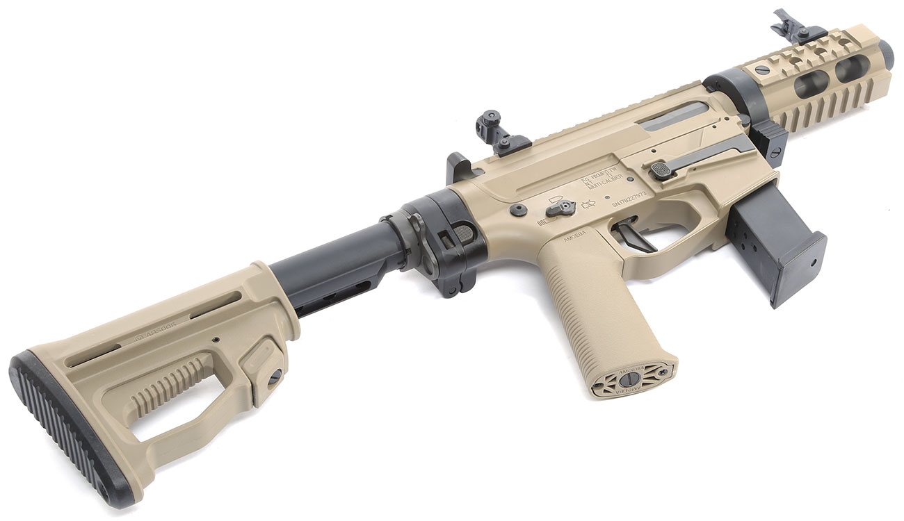 Ares M45X-S X-Class Vollmetall EFC-System S-AEG 6mm BB Dark Earth 5