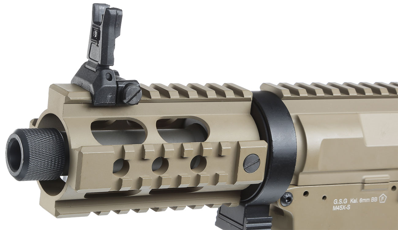 Ares M45X-S X-Class Vollmetall EFC-System S-AEG 6mm BB Dark Earth 6