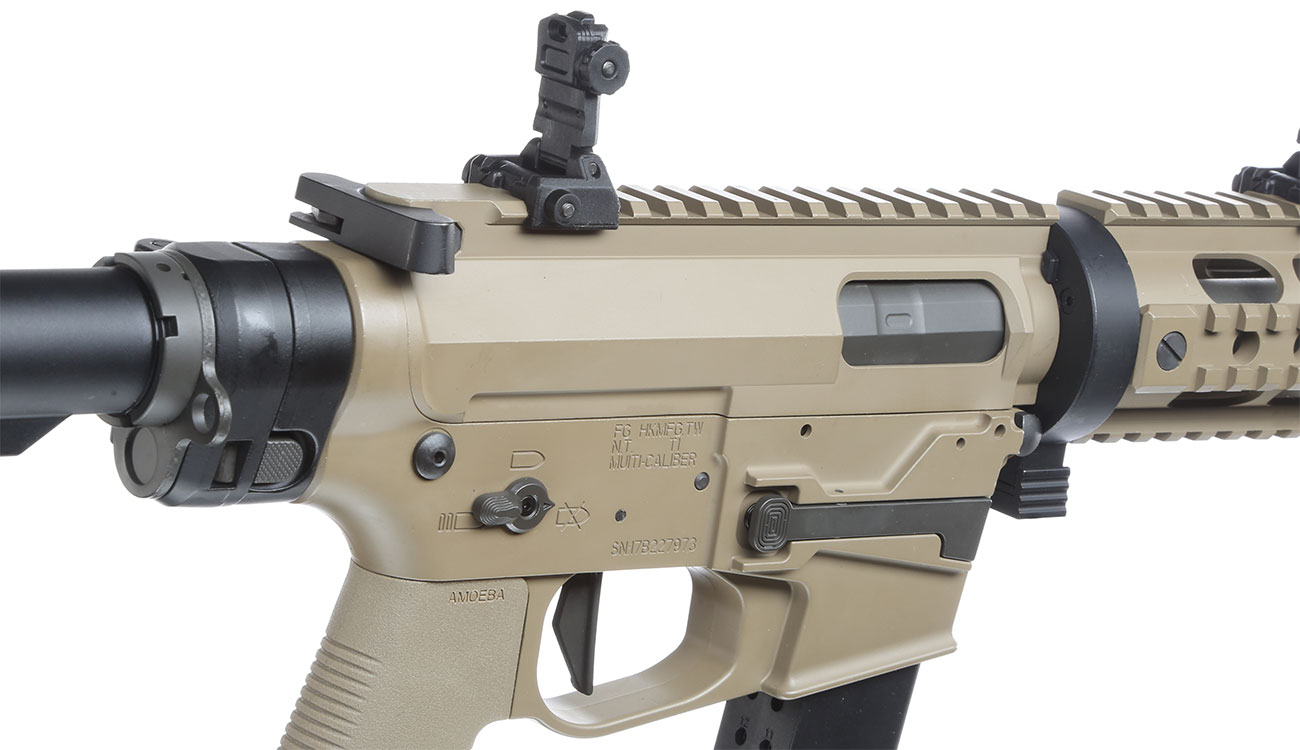 Ares M45X-S X-Class Vollmetall EFC-System S-AEG 6mm BB Dark Earth 8