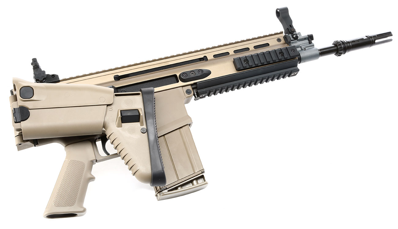 Versandrückläufer VFC Socom-H Vollmetall Gas-Blow-Back 6mm BB tan 4