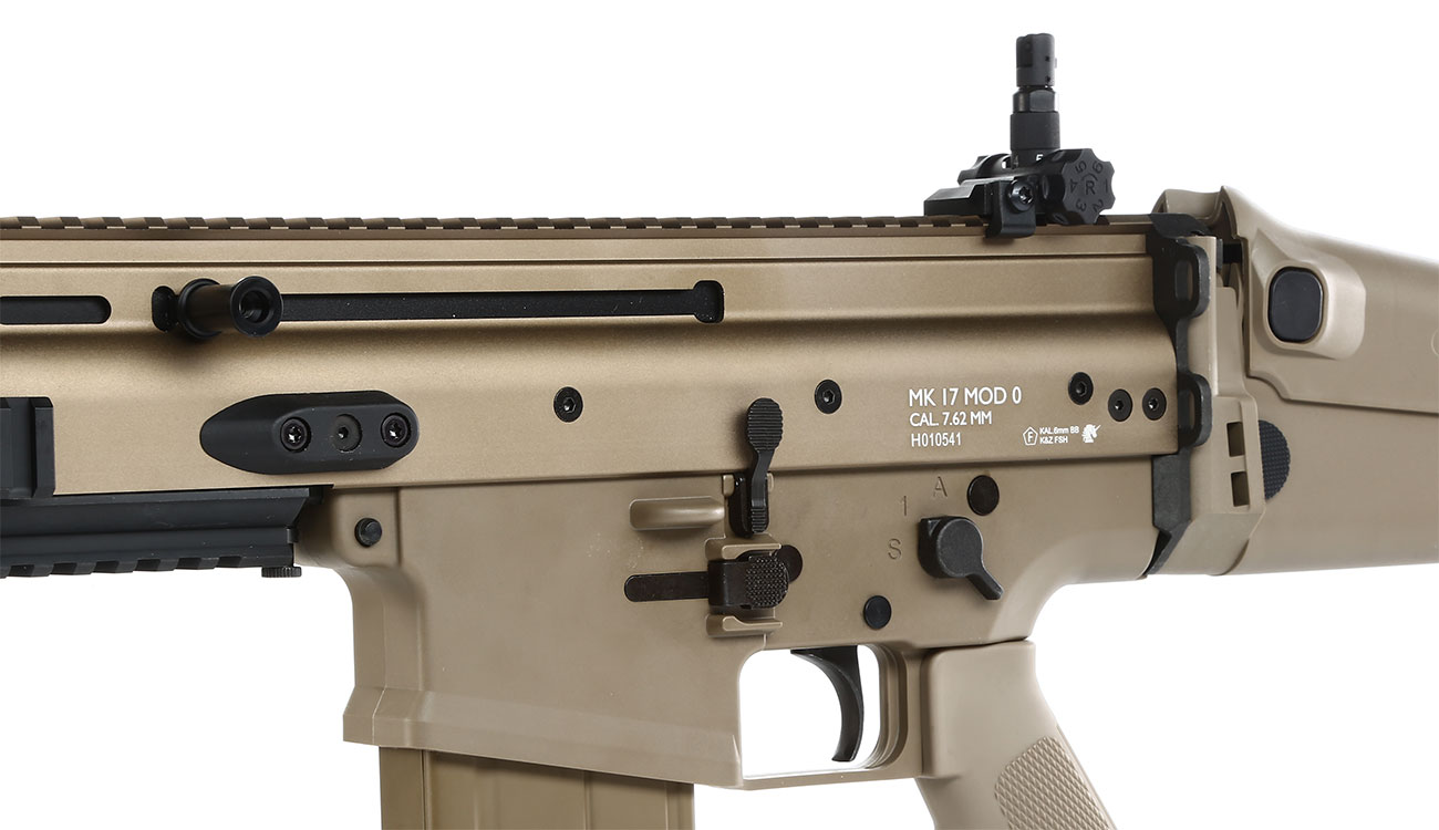 Versandrückläufer VFC Socom-H Vollmetall Gas-Blow-Back 6mm BB tan 7