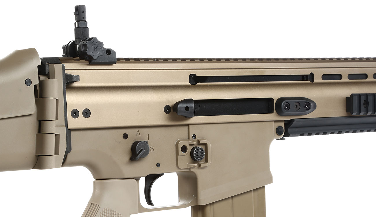 Versandrückläufer VFC Socom-H Vollmetall Gas-Blow-Back 6mm BB tan 8