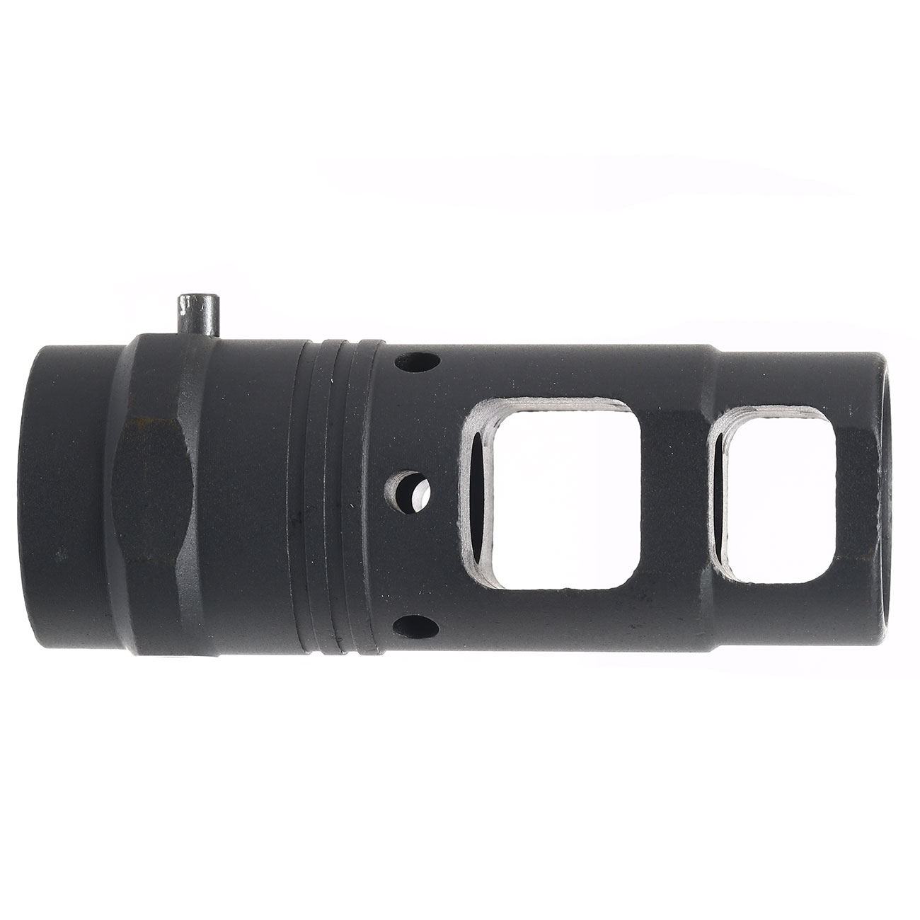 Ares Aluminum Type-C Flash-Hider f. Blast Shield schwarz 14mm+ 3