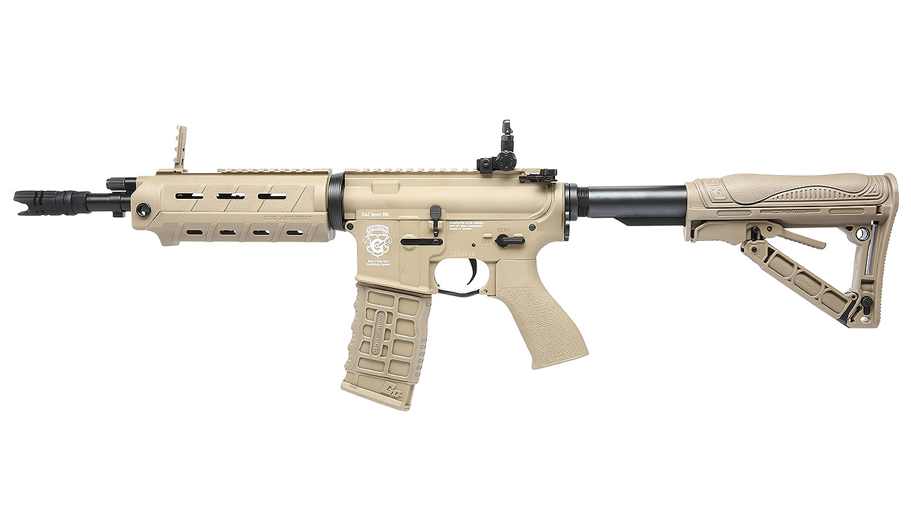 G&G GR4 G26 BlowBack AEG 6mm BB Desert Tan 1