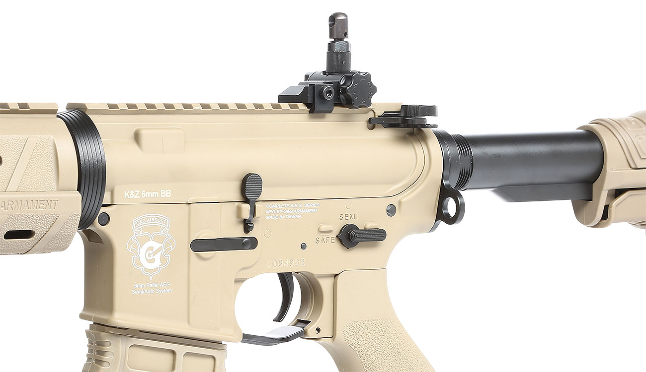 G&G GR4 G26 BlowBack AEG 6mm BB Desert Tan 7