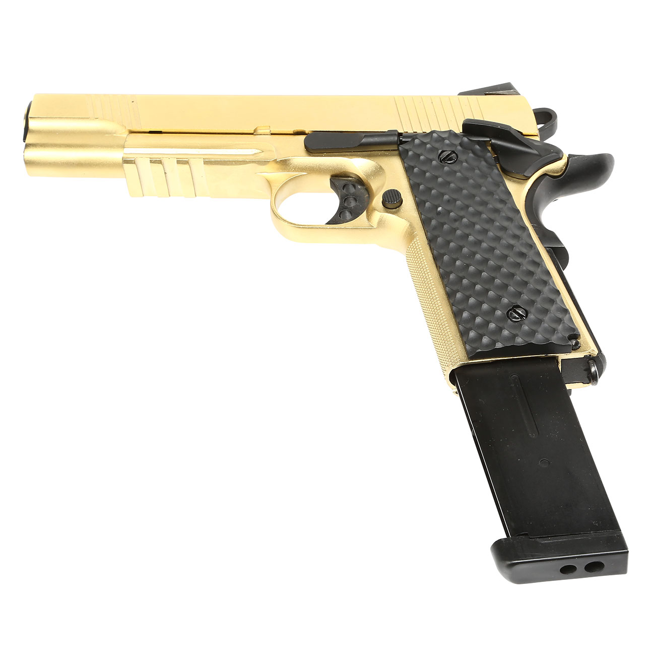 Nuprol Raven M1911 MEU Railed Vollmetall GBB 6mm BB gold 5