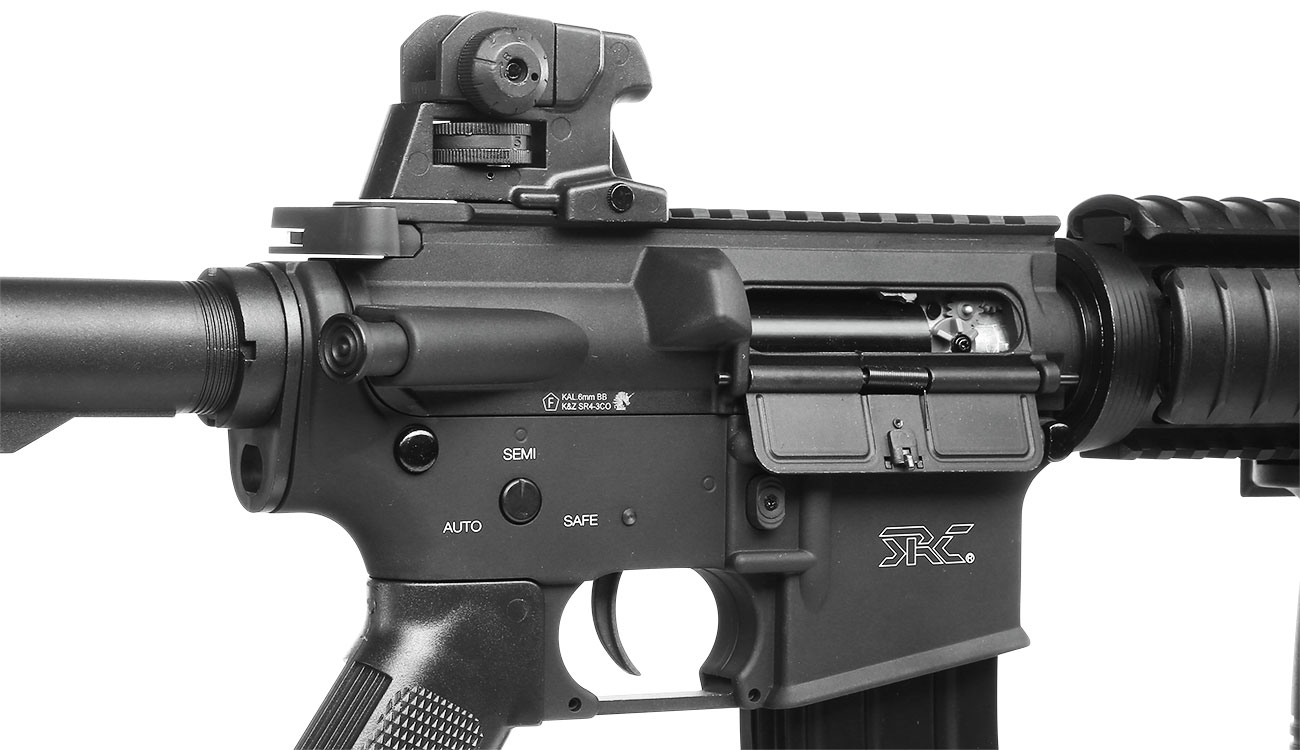 SRC SR4 CQB-R Vollmetall CO2 Non-Blow-Back 6mm BB schwarz 9