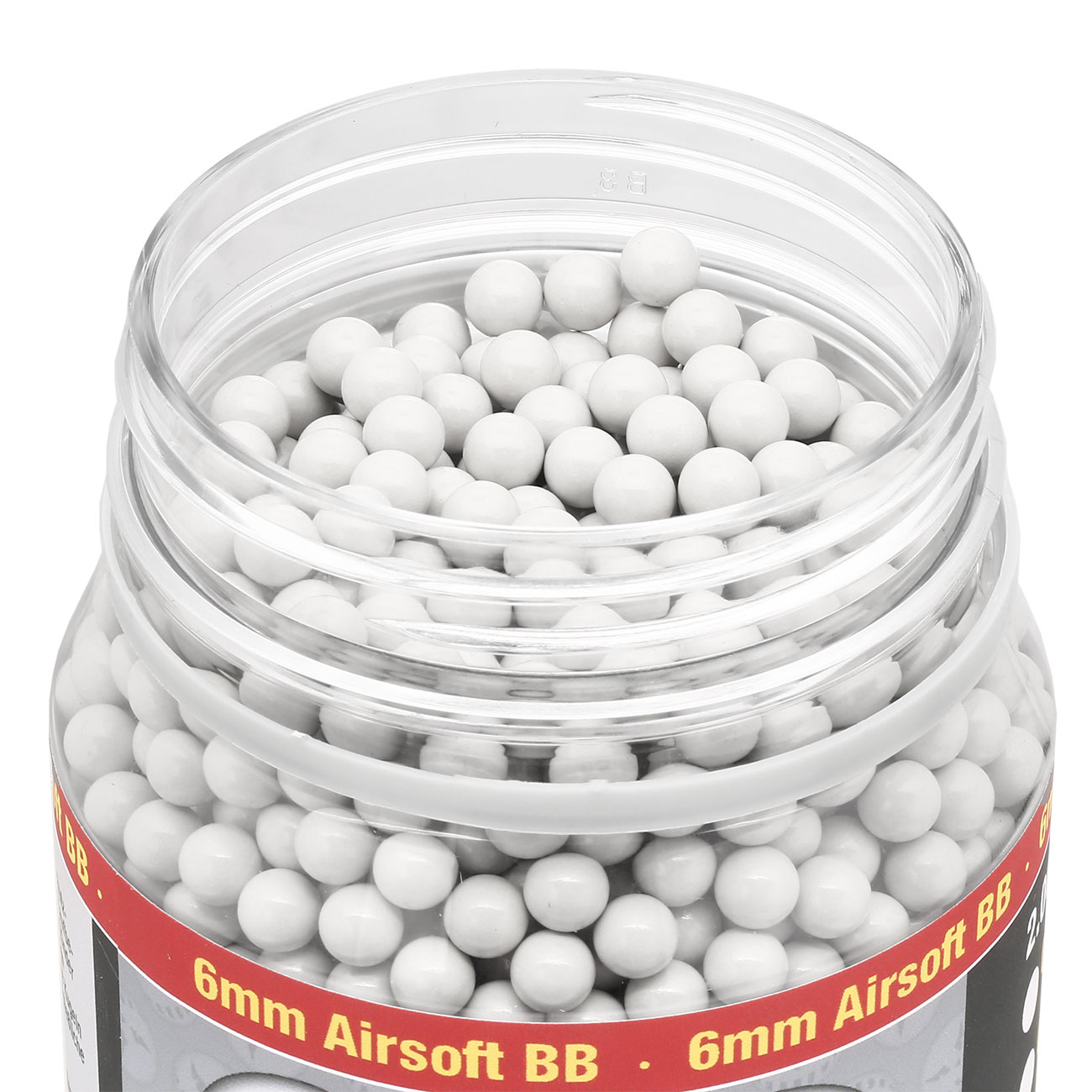 MadBull Heavy White Series BBs 0.45g 2.000er Container weiss Softair Munition
