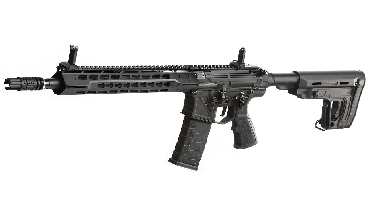 APS Phantom Extremis Rifle MK2 Vollmetall BlowBack S-AEG 6mm BB schwarz 0