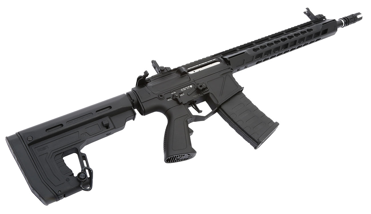 APS Phantom Extremis Rifle MK2 Vollmetall BlowBack S-AEG 6mm BB schwarz 4