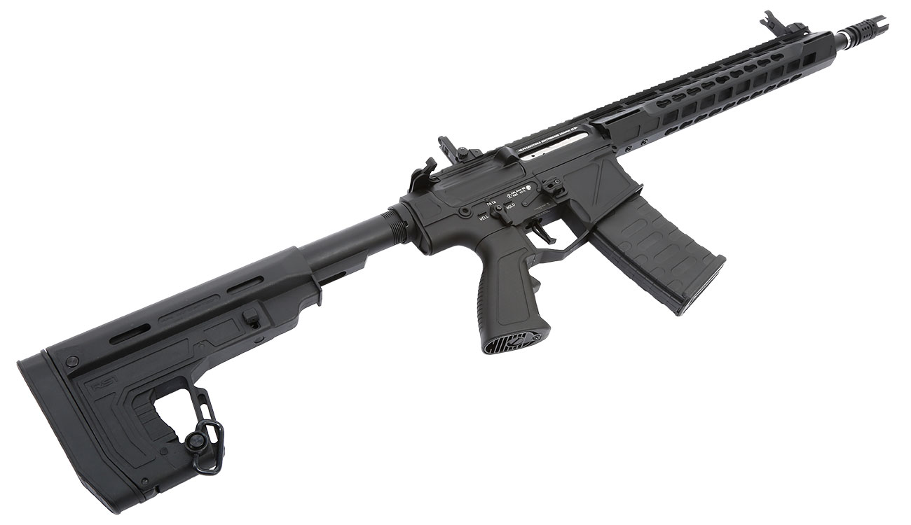 APS Phantom Extremis Rifle MK2 Vollmetall BlowBack S-AEG 6mm BB schwarz 5