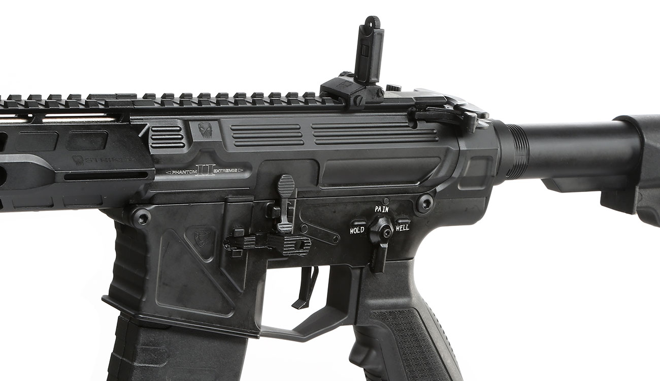 APS Phantom Extremis Rifle MK2 Vollmetall BlowBack S-AEG 6mm BB schwarz 7