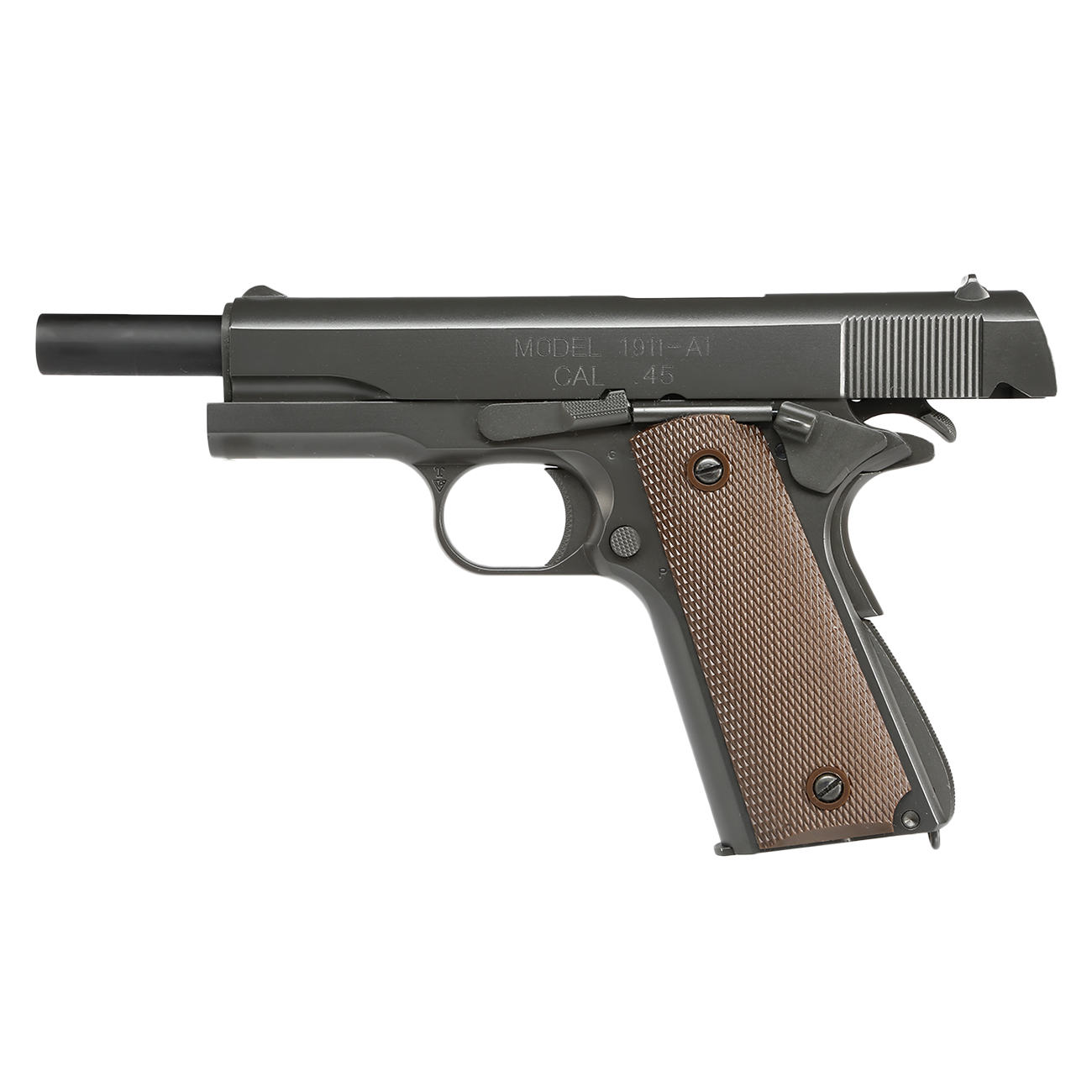 King Arms M1911-A1 Cal. 45 Vollmetall GBB 6mm BB Original-Grey 2