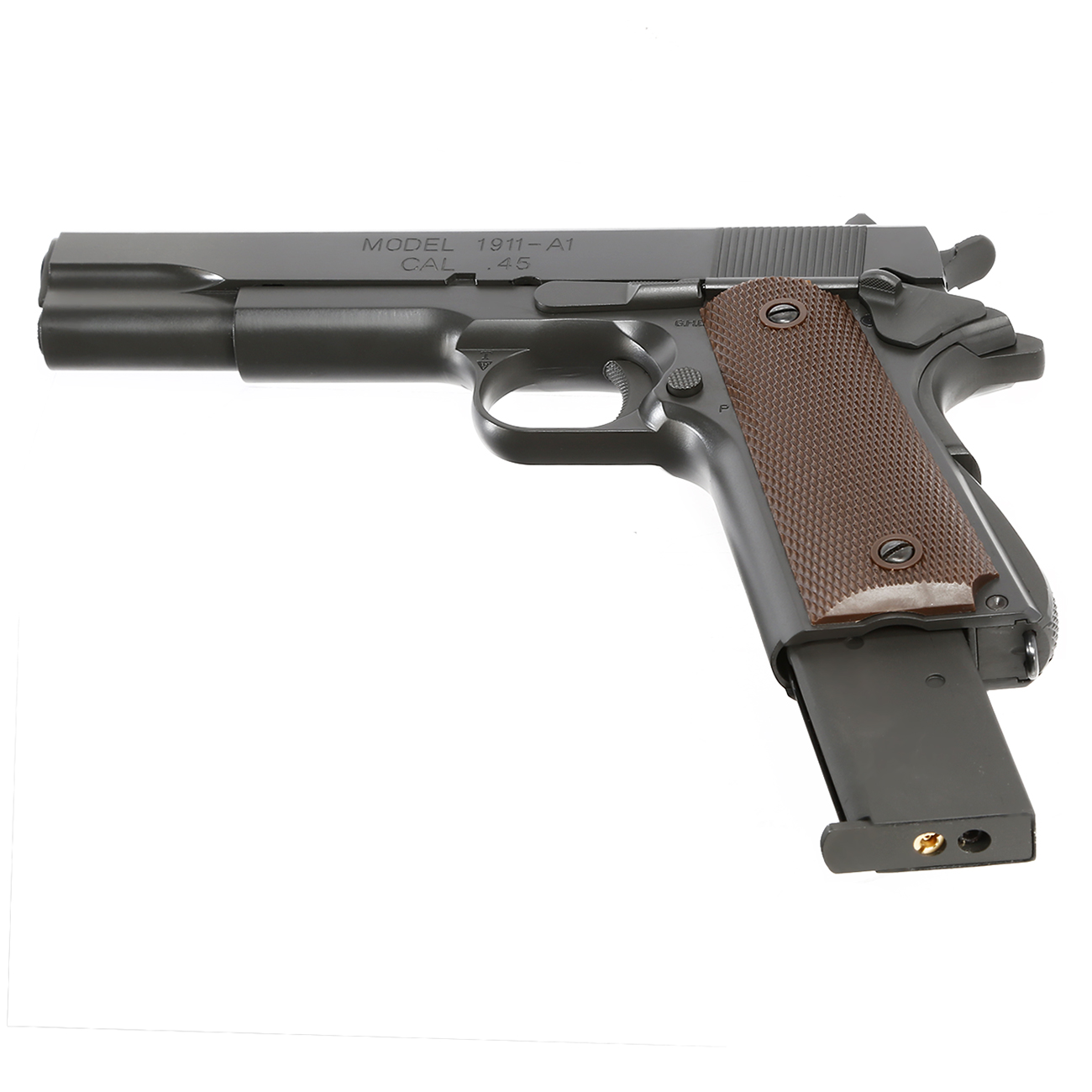 King Arms M1911-A1 Cal. 45 Vollmetall GBB 6mm BB Original-Grey 5