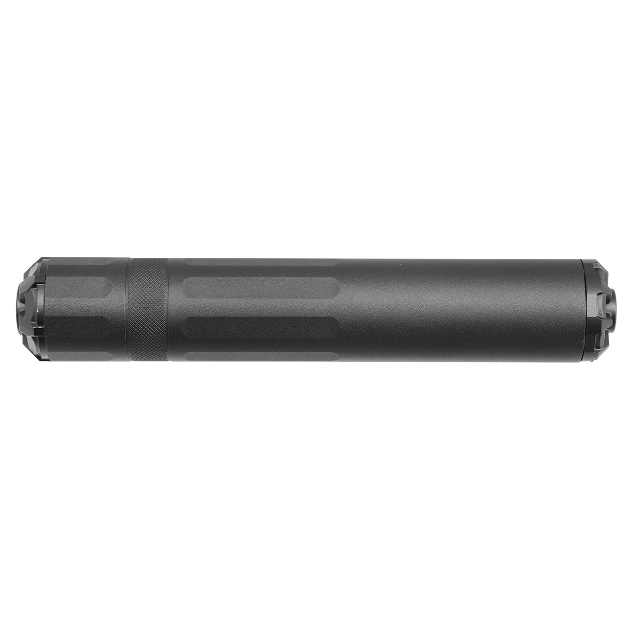 G&G GOMS MK1 Aluminium Tactical Silencer 210mm 14mm- schwarz 3