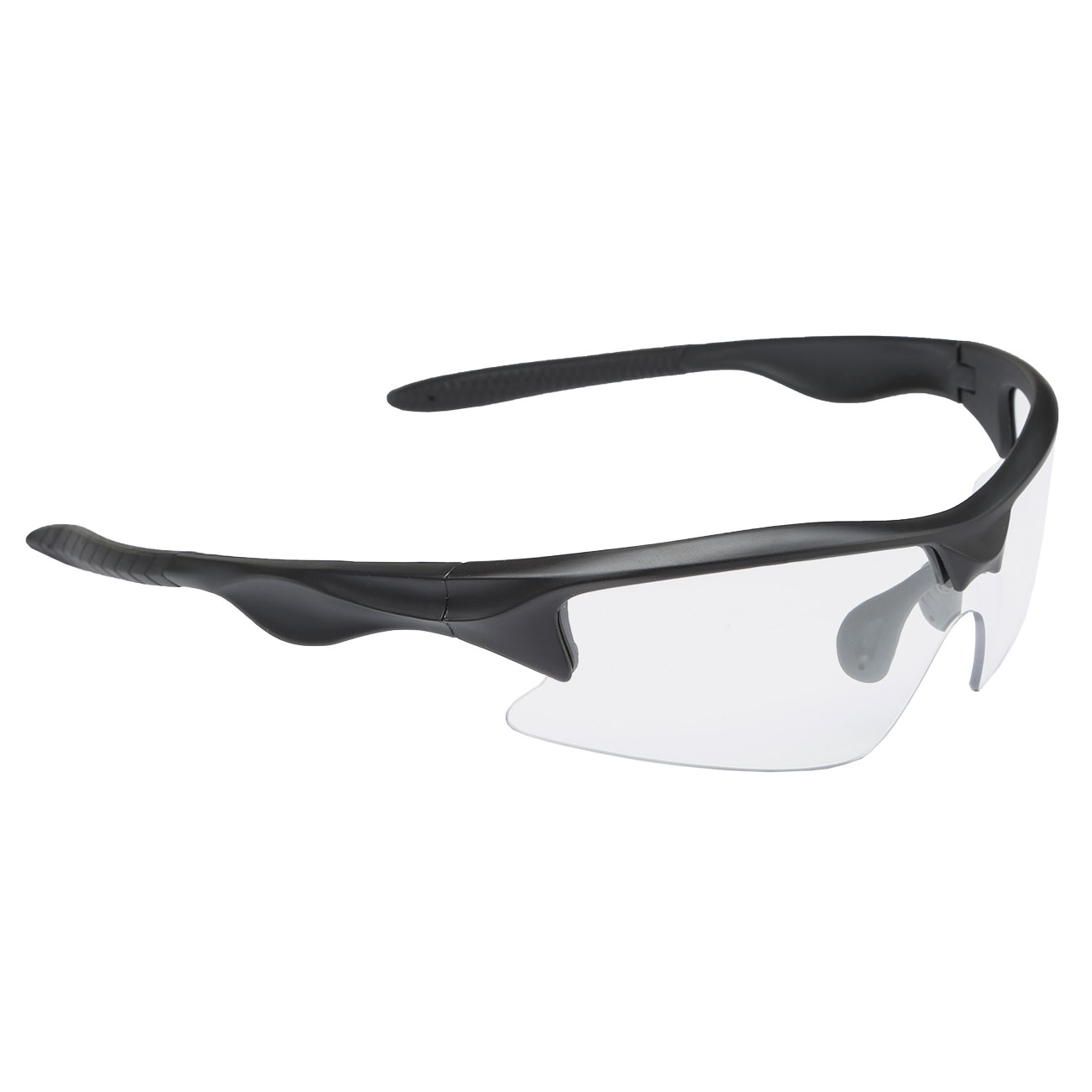 Modify Tactical Shooting Airsoft Schutzbrille inkl. Etui schwarz / transparent 1