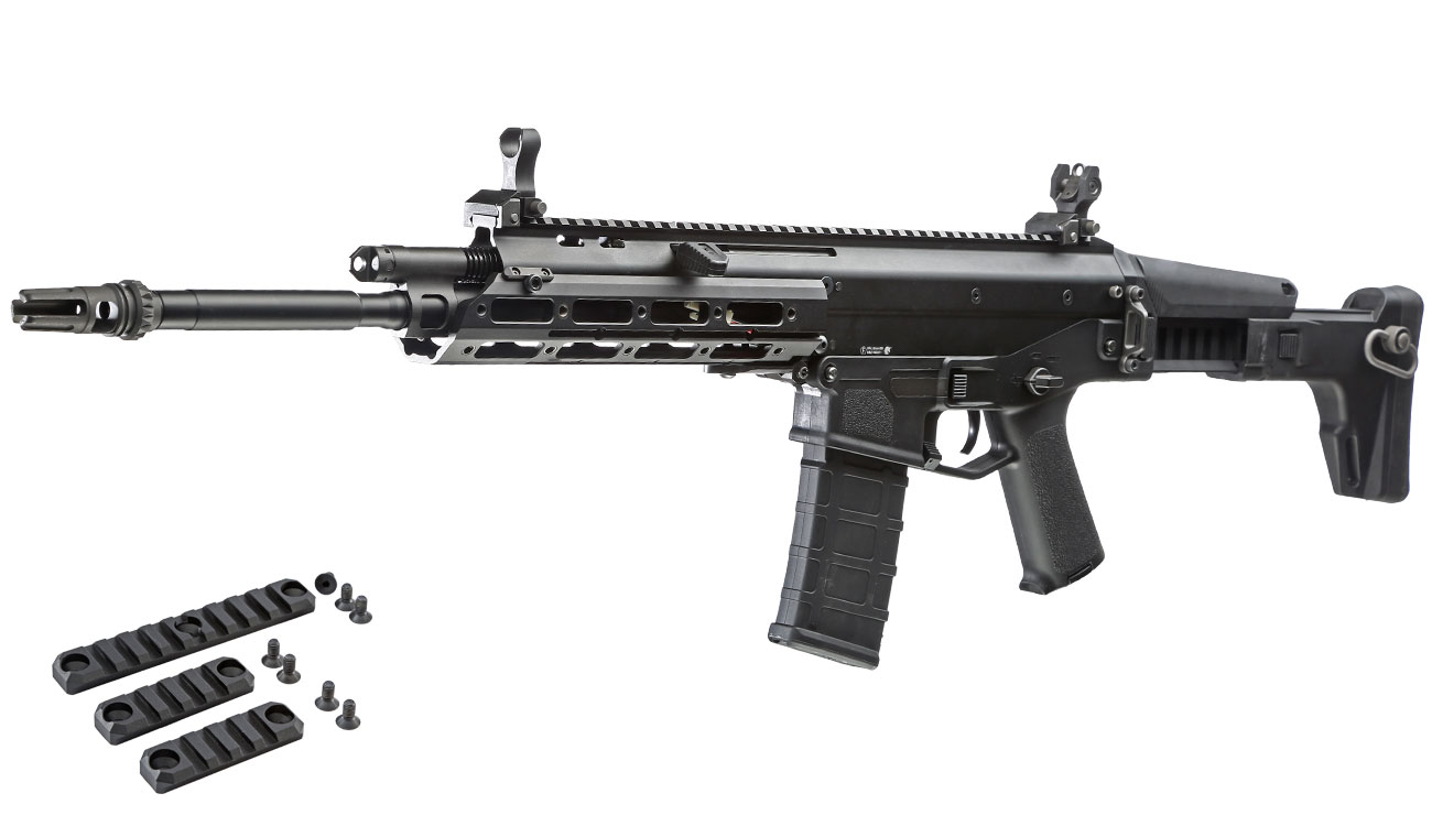 Wei-ETech MSK Long-Version Vollmetall S-AEG 6mm BB schwarz 0