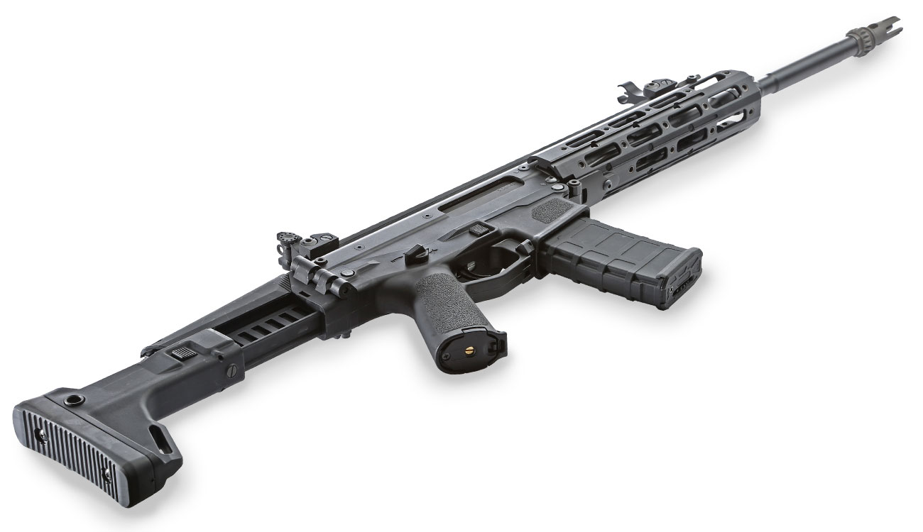 Wei-ETech MSK Long-Version Vollmetall S-AEG 6mm BB schwarz 4