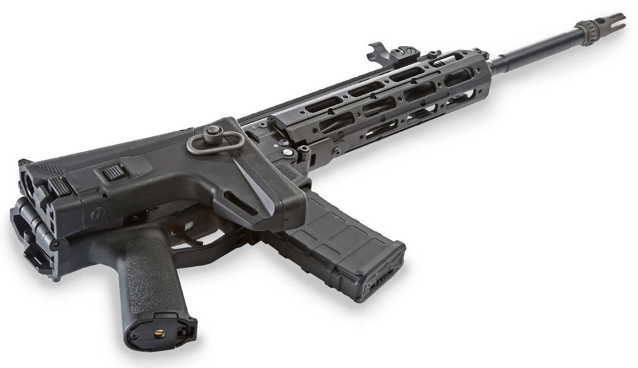 Wei-ETech MSK Long-Version Vollmetall S-AEG 6mm BB schwarz 5