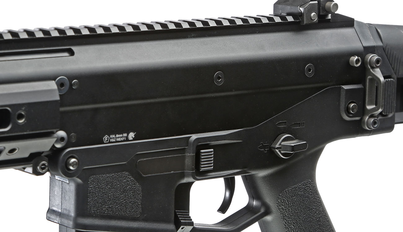 Wei-ETech MSK Long-Version Vollmetall S-AEG 6mm BB schwarz 7