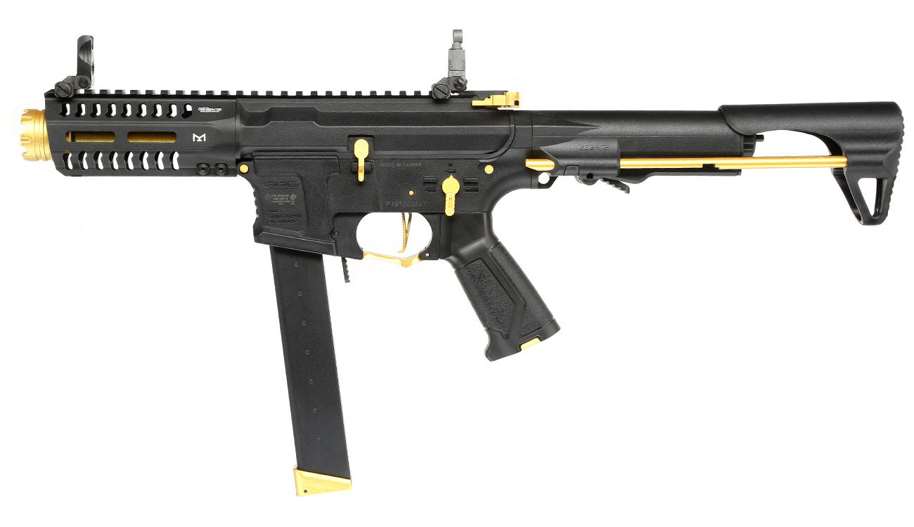 G&G ARP 9 ETU-Mosfet S-AEG 6mm BB gold - Special Edition 1