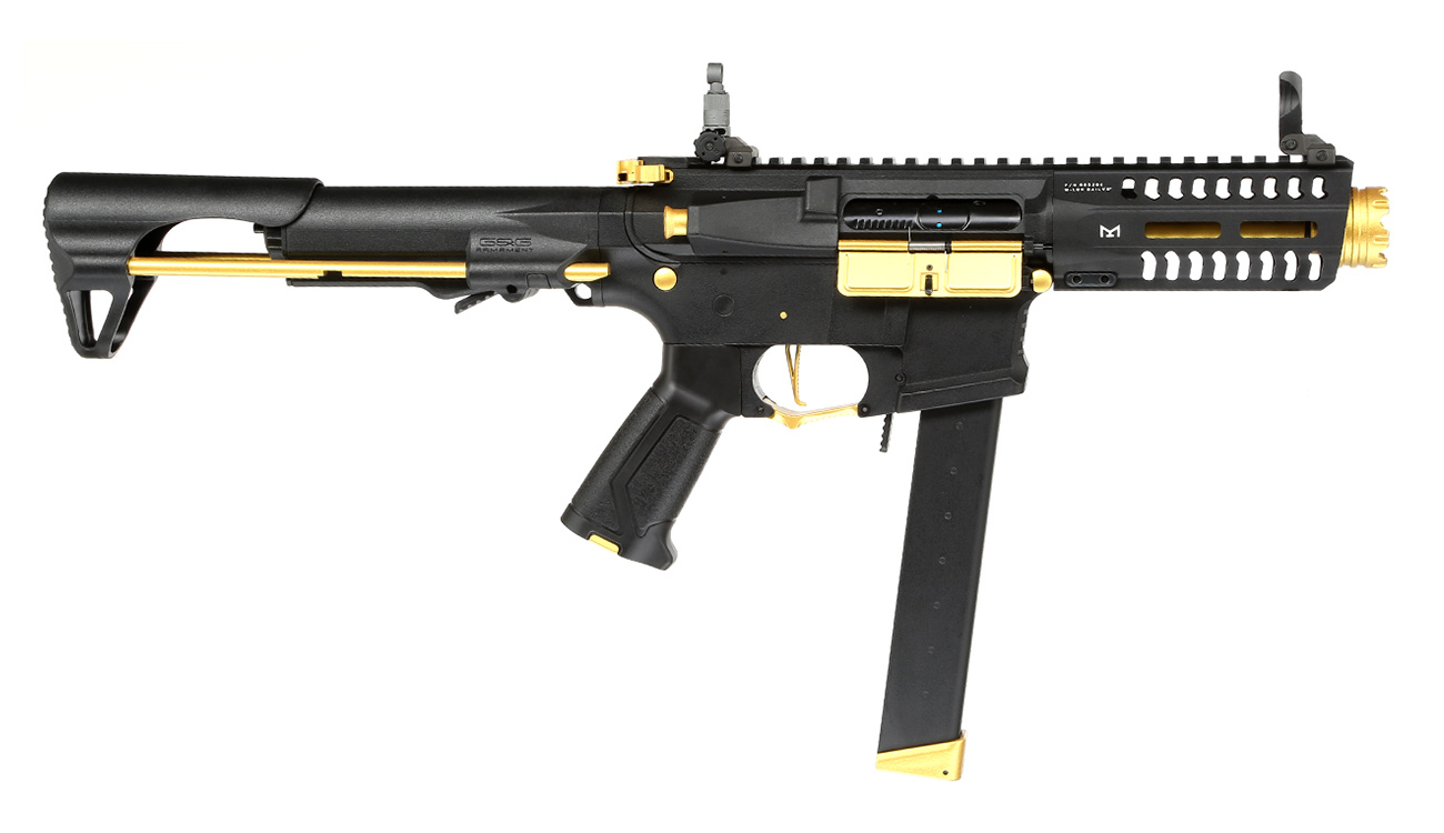 G&G ARP 9 ETU-Mosfet S-AEG 6mm BB gold - Special Edition 2