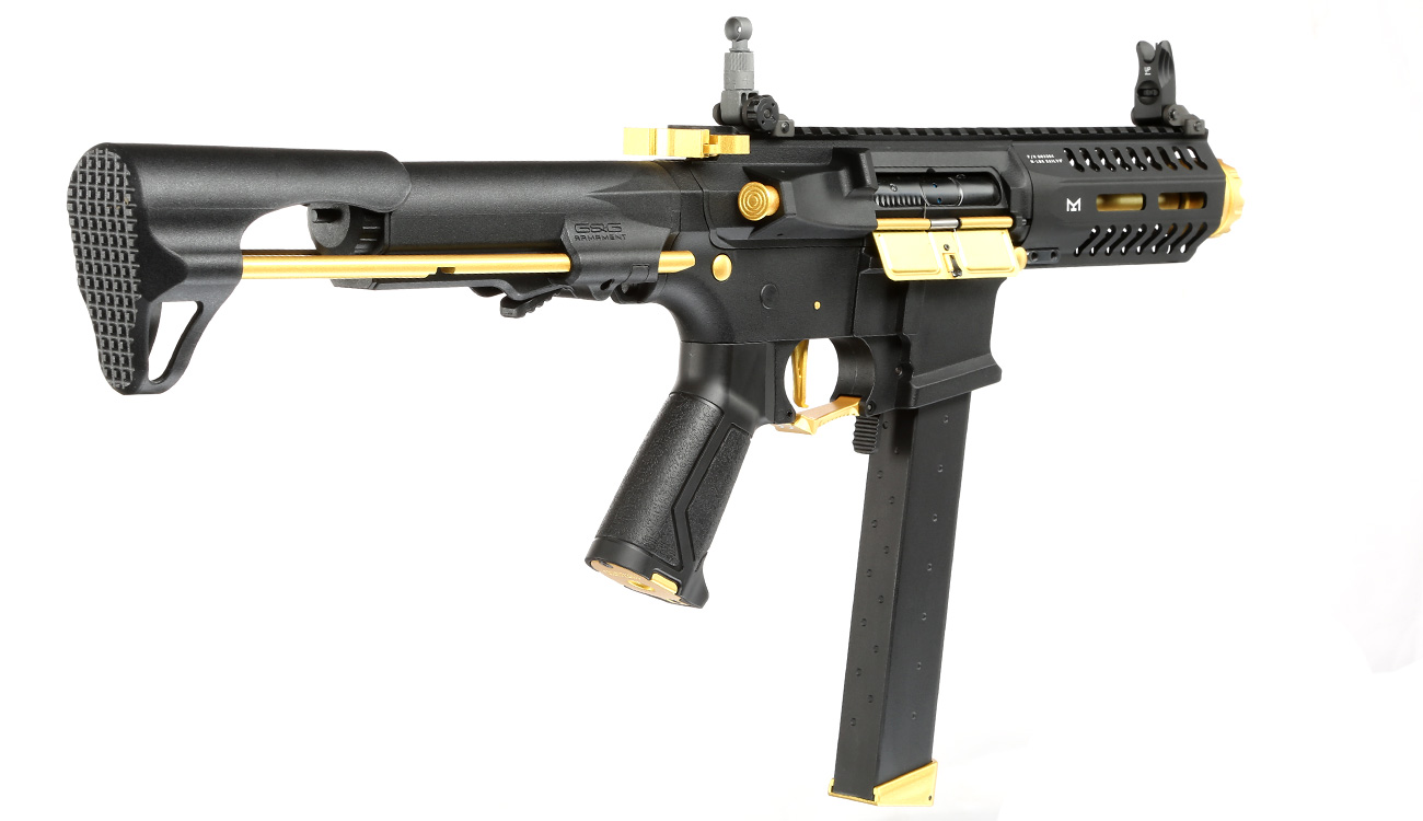 G&G ARP 9 ETU-Mosfet S-AEG 6mm BB gold - Special Edition 3