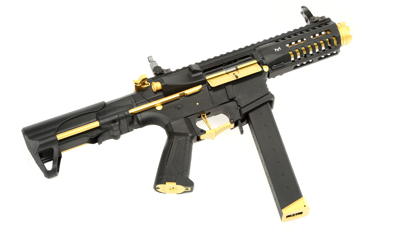G&G ARP 9 ETU-Mosfet S-AEG 6mm BB gold - Special Edition 4
