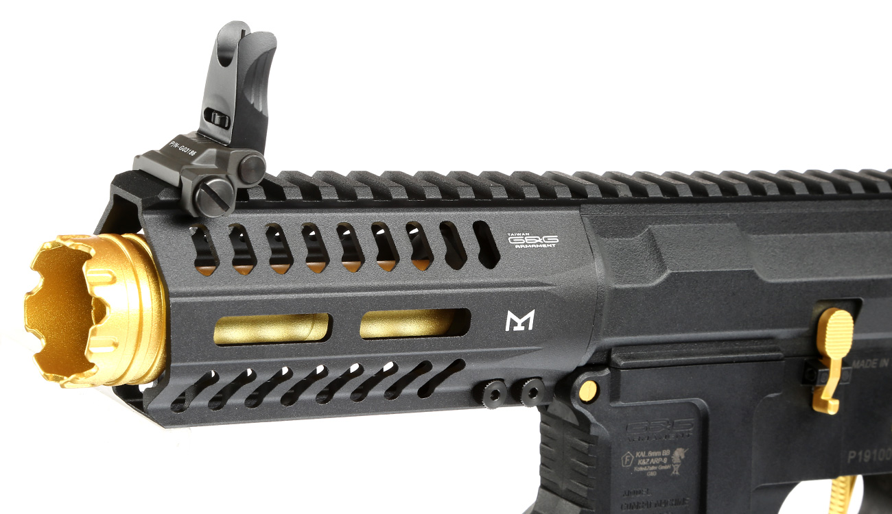 G&G ARP 9 ETU-Mosfet S-AEG 6mm BB gold - Special Edition 6