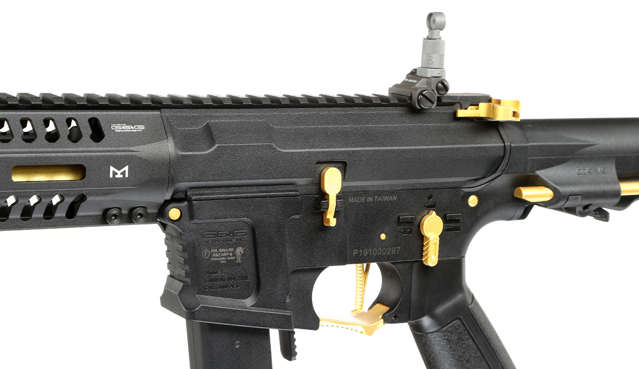 G&G ARP 9 ETU-Mosfet S-AEG 6mm BB gold - Special Edition 7