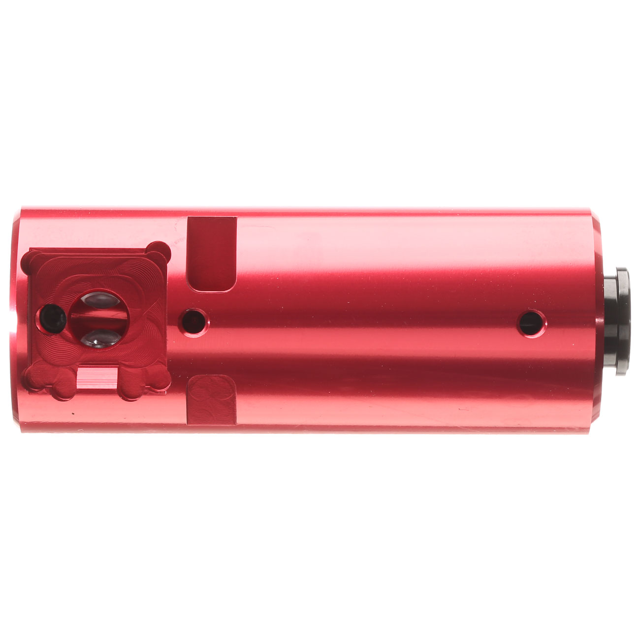 Action Army CNC Aluminium Hop-Up Chamber rot f. TM VSR-10 Gewehre 3