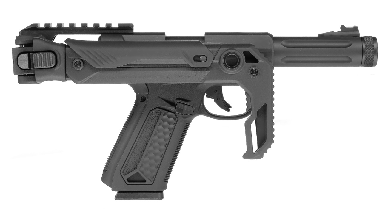 Action Army AAP-01 Folding Stock / Klappschaft Conversion Kit schwarz 10