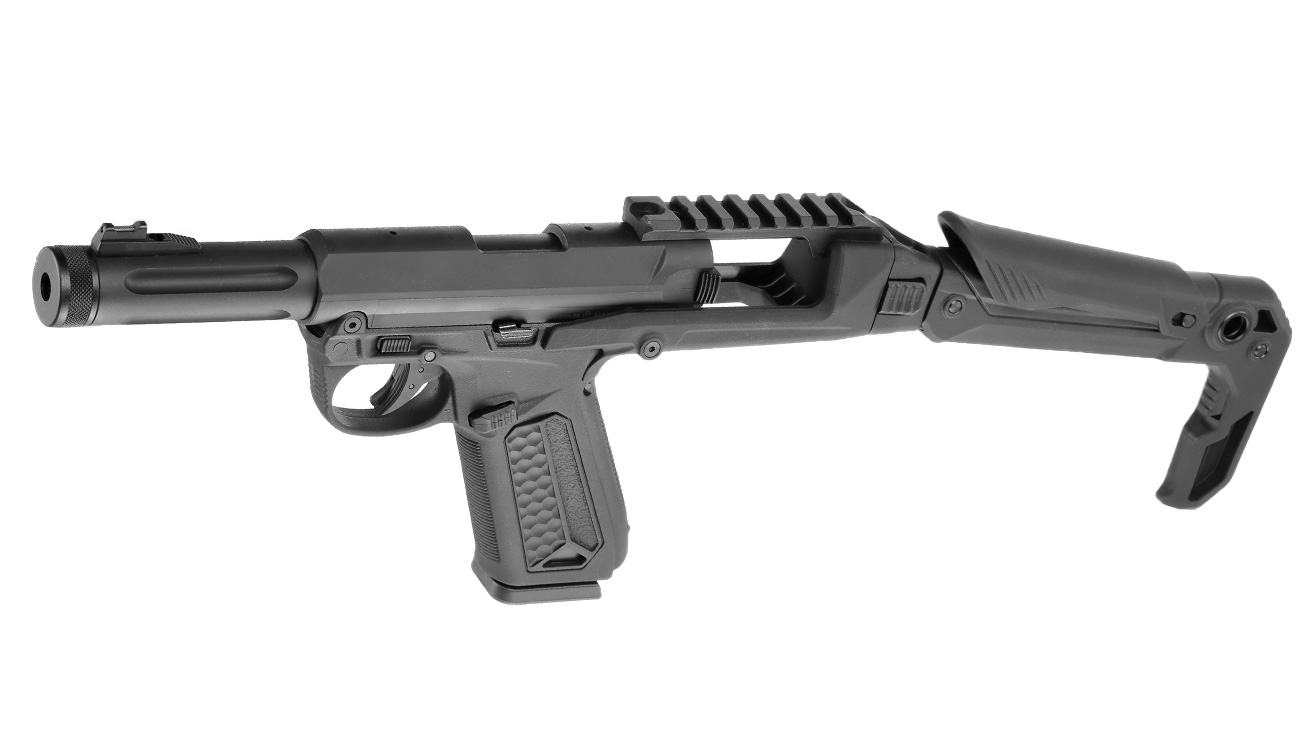 Action Army AAP-01 Folding Stock / Klappschaft Conversion Kit schwarz 6