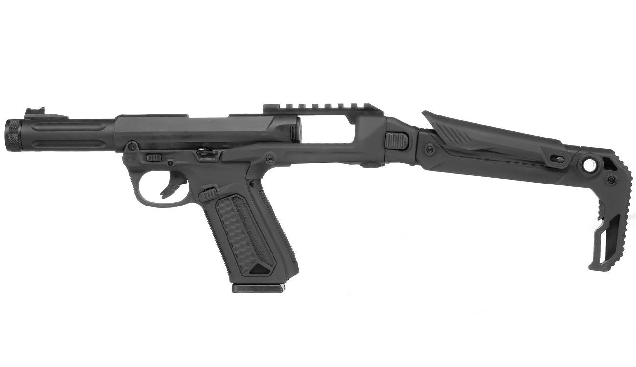 Action Army AAP-01 Folding Stock / Klappschaft Conversion Kit schwarz 8