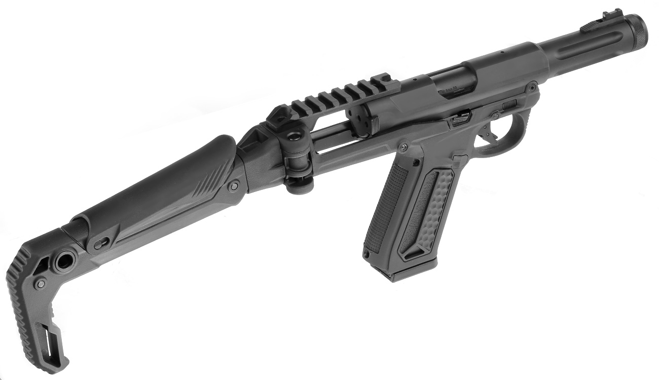 Action Army AAP-01 Folding Stock / Klappschaft Conversion Kit schwarz 9