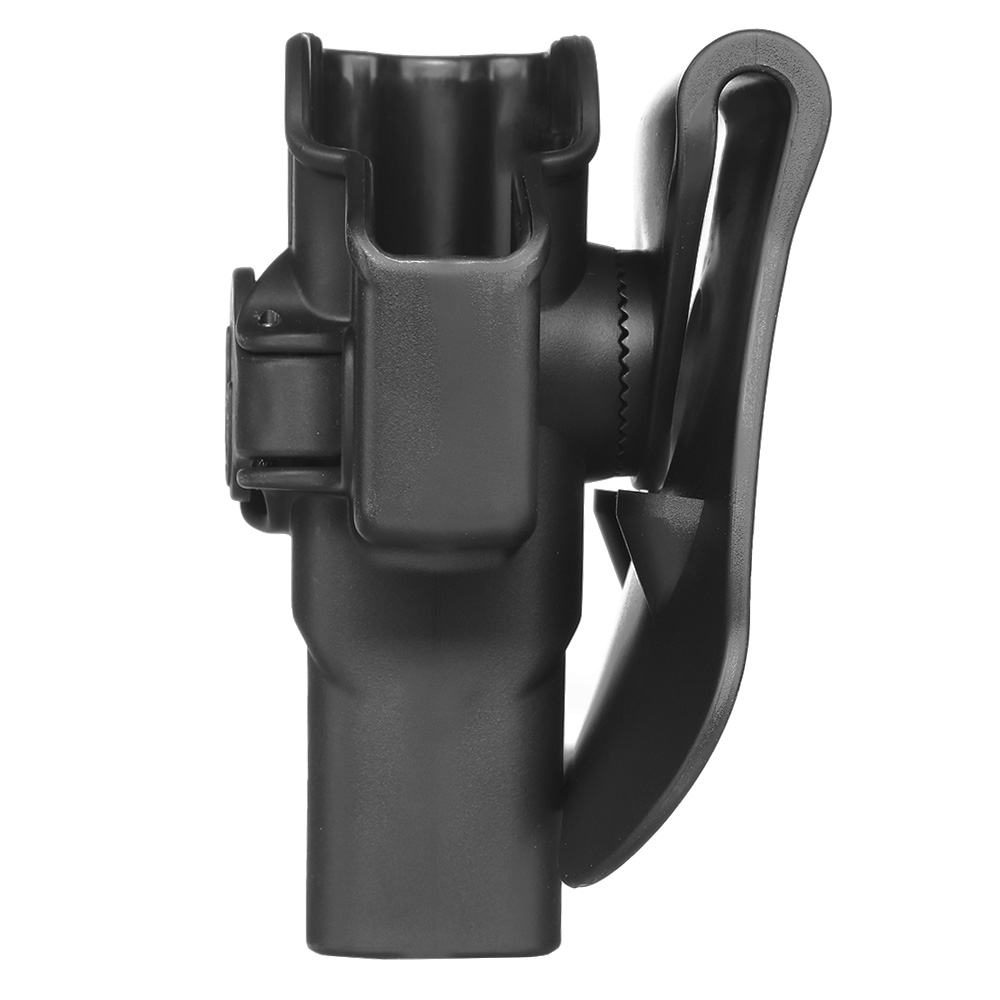 Amomax Tactical Holster Polymer Paddle für Airsoft G-Modelle Links schwarz 2