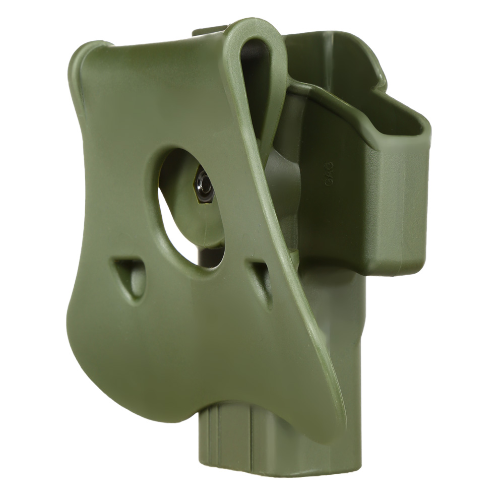 Amomax Tactical Holster Polymer Paddle für Airsoft G-Modelle Rechts oliv 3