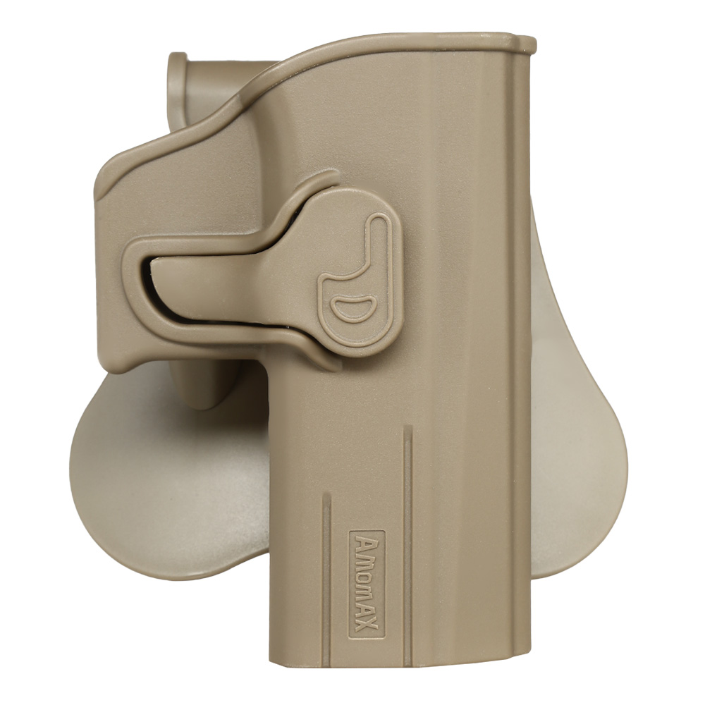 Amomax Tactical Holster Polymer Paddle für CZ P-07 / CZ P-09 Rechts Flat Dark Earth 0