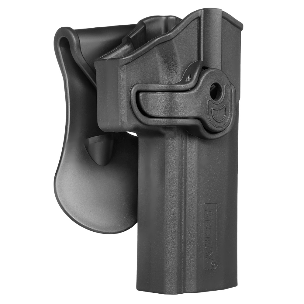 Amomax Tactical Holster Polymer Paddle Sig Sauer P320 Full Size Rechts schwarz 1
