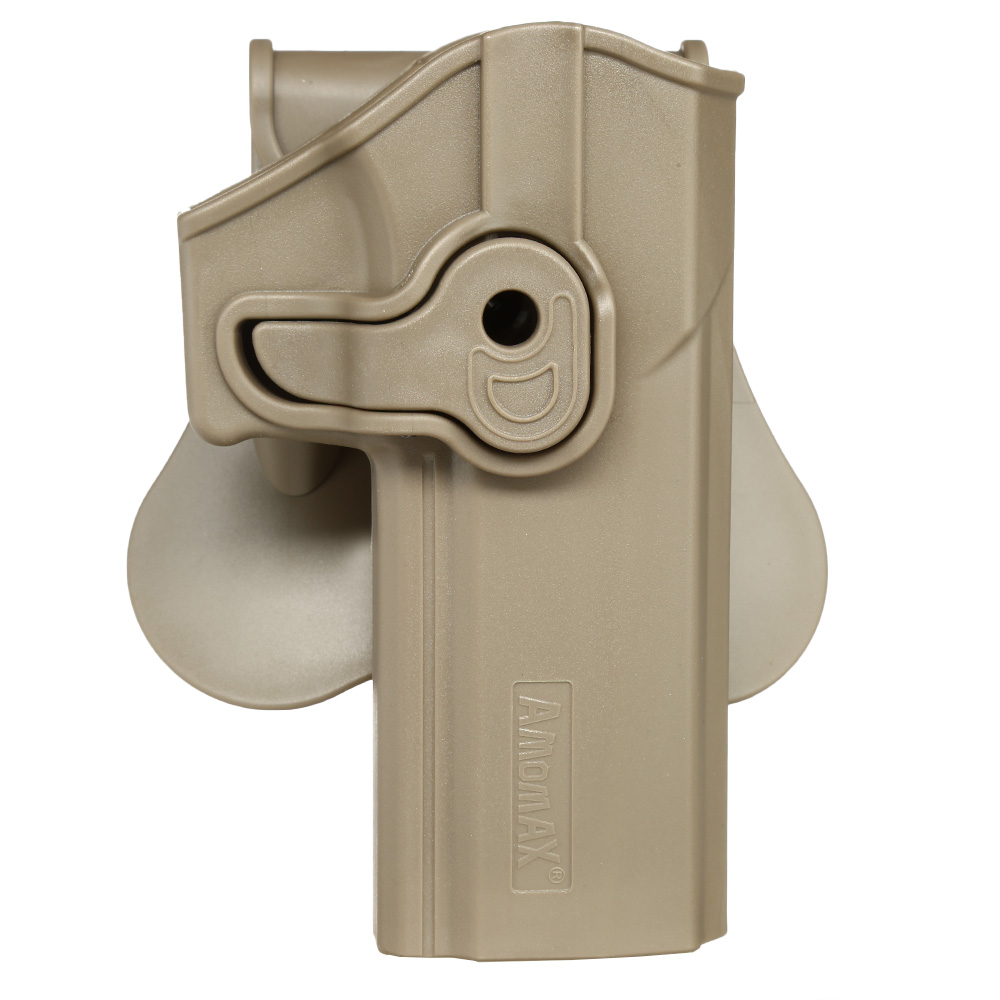 Amomax Tactical Holster Polymer Paddle Sig Sauer P320 Full Size Rechts Flat Dark Earth 0