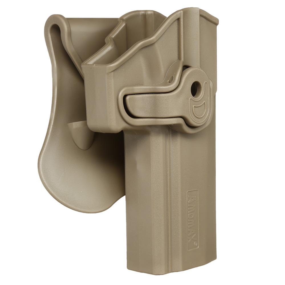 Amomax Tactical Holster Polymer Paddle Sig Sauer P320 Full Size Rechts Flat Dark Earth 1