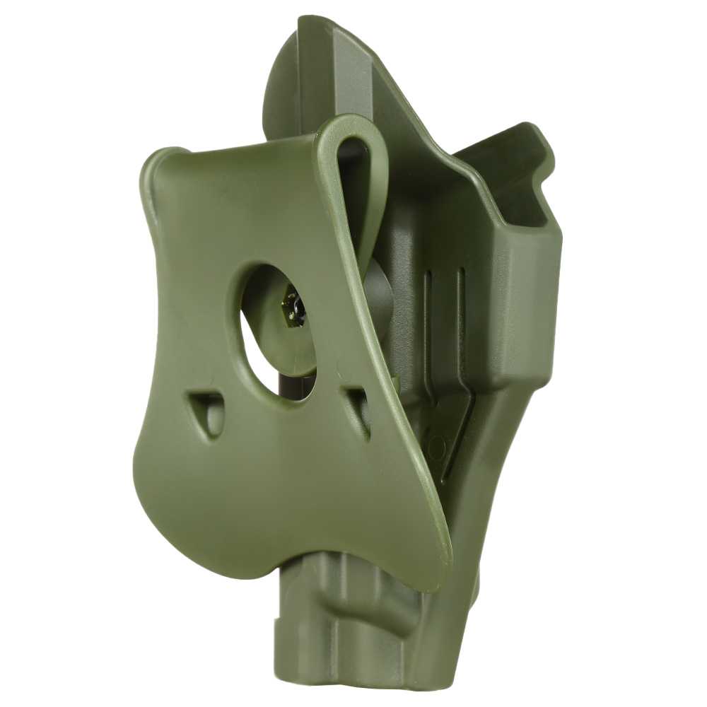 Amomax Tactical Holster Polymer Paddle für Sig Sauer P220 Serie Rechts oliv 3