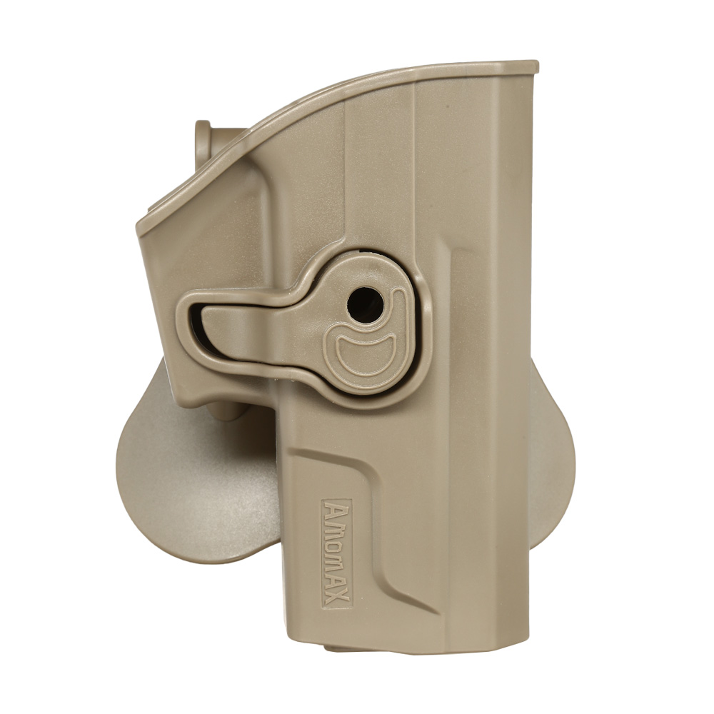 Amomax Tactical Holster Polymer Paddle für Sig Sauer SP2022 Rechts Flat Dark Earth 0