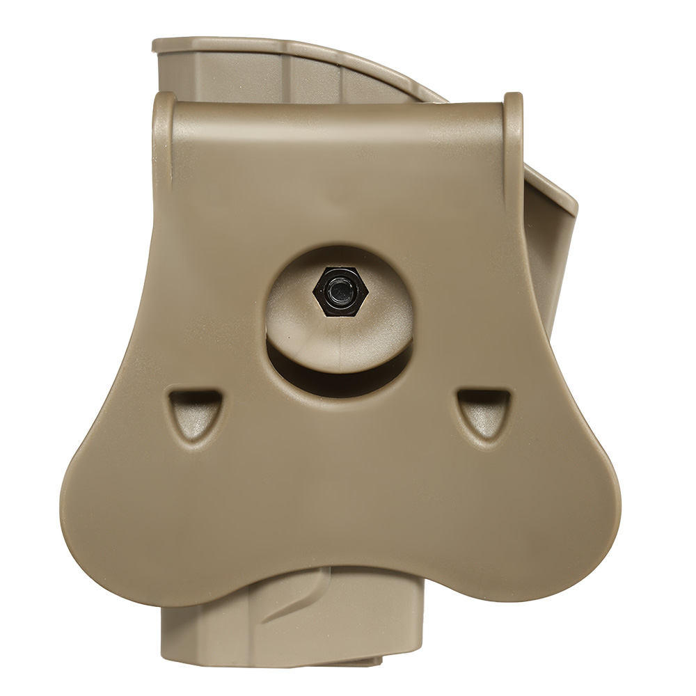 Amomax Tactical Holster Polymer Paddle für Sig Sauer SP2022 Rechts Flat Dark Earth 5