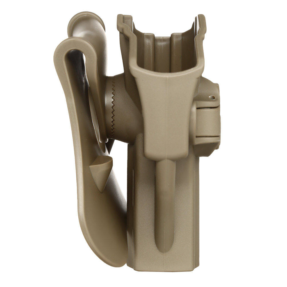 Amomax Tactical Holster Polymer Paddle für H&K USP Serie / G&G GTP-9 Rechts Flat Dark Earth 2