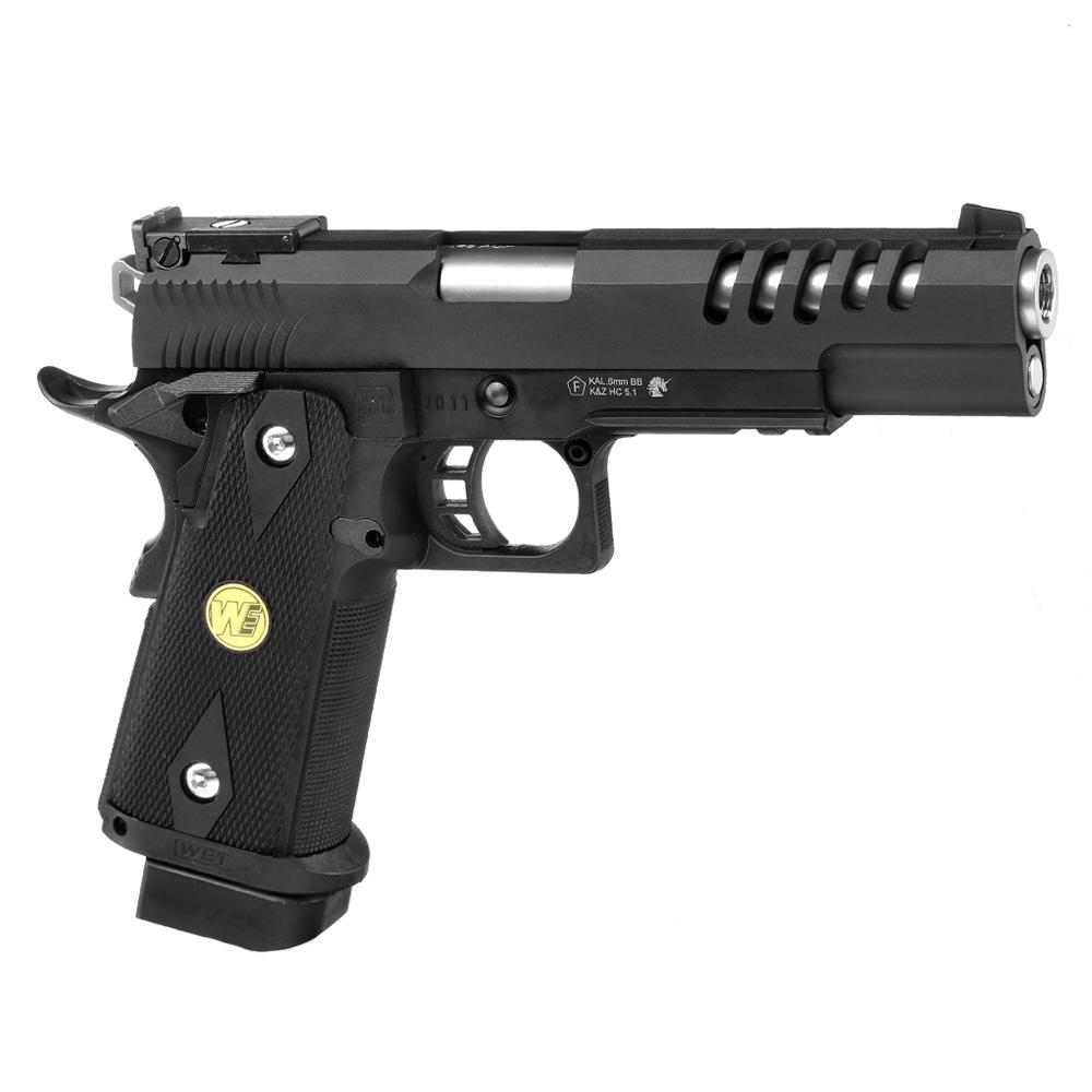 Wei ETech Hi-Capa 5.1 K-Type Vollmetall 6mm BB schwarz ...