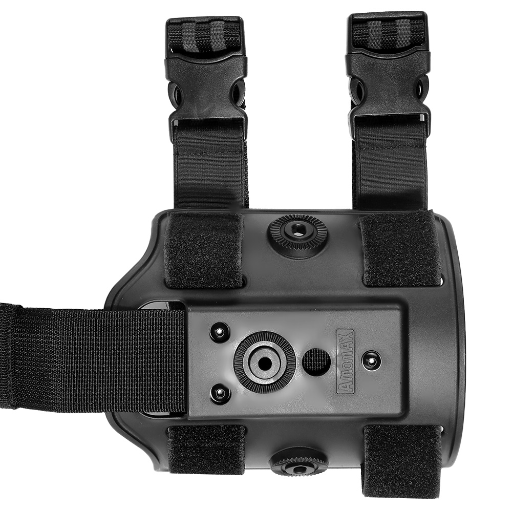 Amomax Tactical Holster Drop Leg Plate / Beinplattform schwarz 1