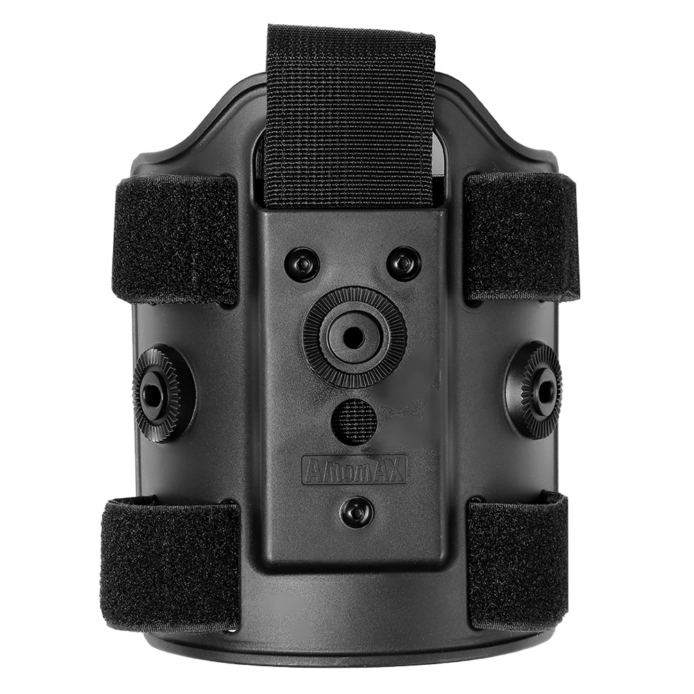 Amomax Tactical Holster Drop Leg Plate / Beinplattform schwarz 2